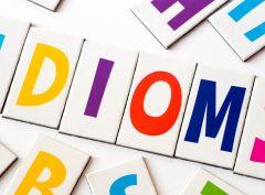 Anglické idiómy